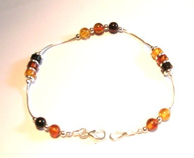 amber necklace brpl14