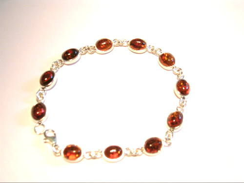 amber necklace brpl19