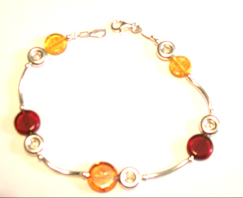 amber necklace brpl22