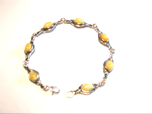 amber necklace brpl24