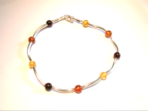 amber necklace brpl25
